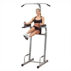 Body Solid Power Tower Knee Raise/Chin/Dip Station